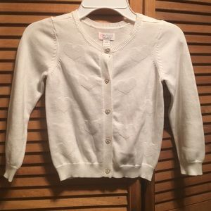 Childrens Place White Cardigan